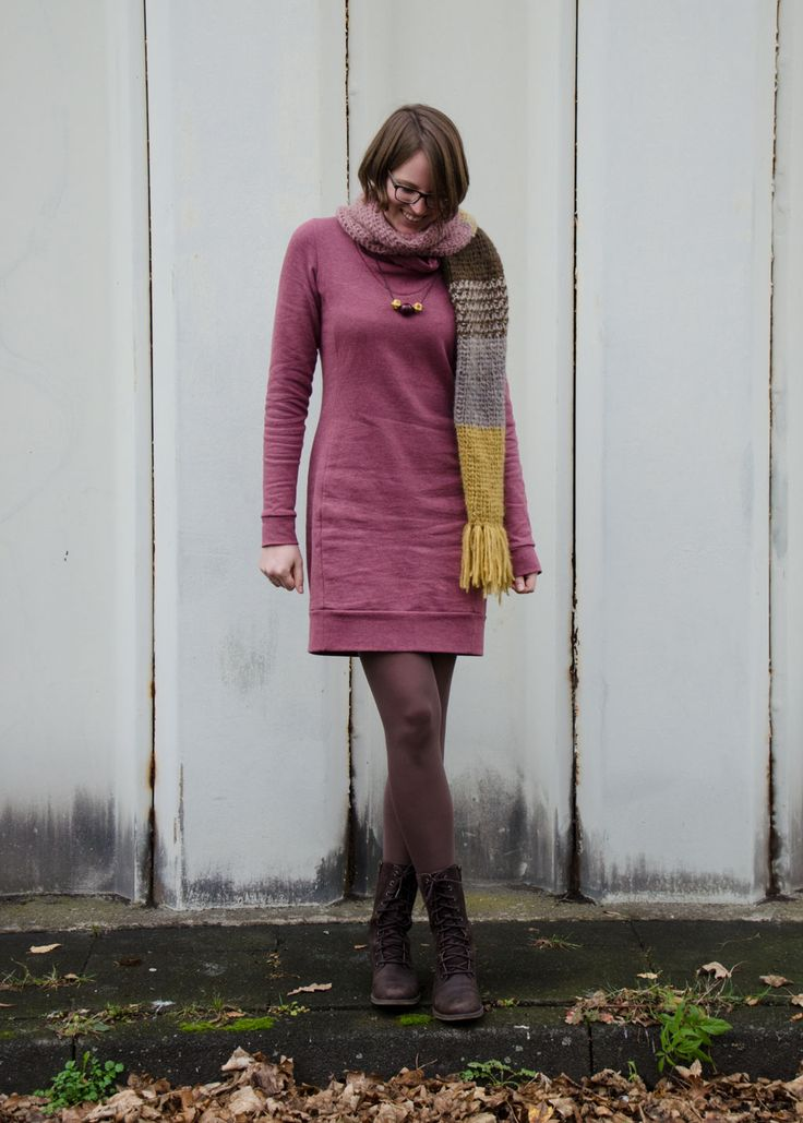 Jasper Dress // 12coloursofhandmadefashion // stoffbüro // kreamino