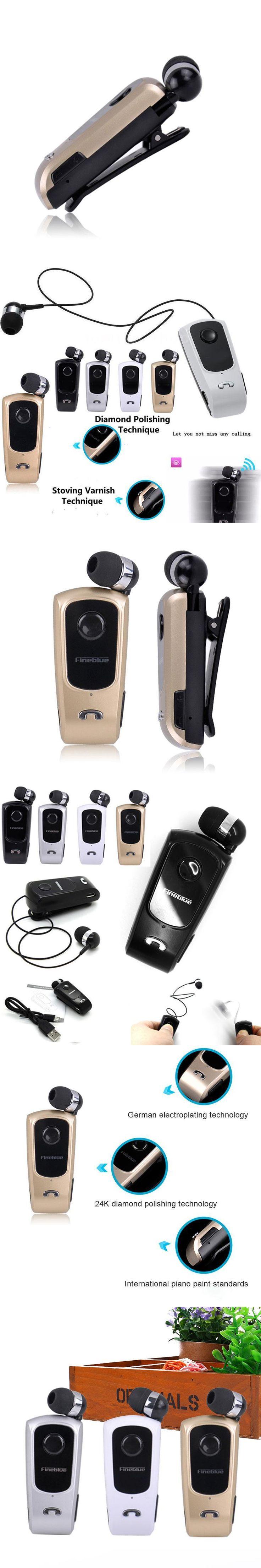 FineBlue F920 Wireless Earpiece Earphone Hnadsfree Bluetooth Clip Headset Vibration Cordless Headphone for Samsung s6 s7 phone