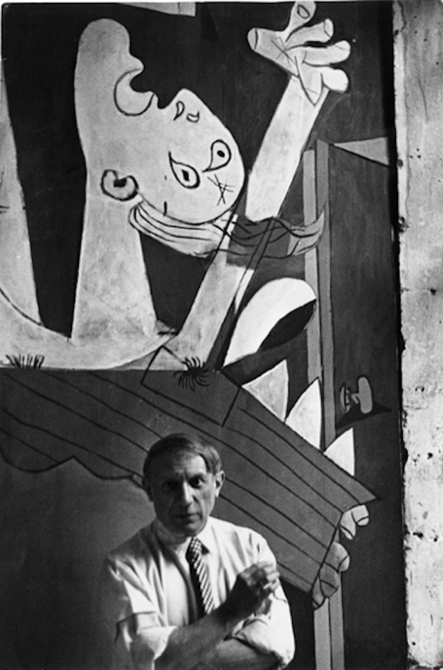 picassos guernica and uccellos battle of Despite calling picasso cher maître and exhibiting his portrait under the title homage to pablo picasso  it took the bombing of the historic basque town of guernica, on april 26, 1937, to.