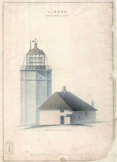 Lighthouse prints | Trinity House, Lizard