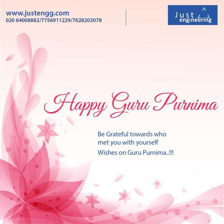Happy #GuruPurnima !!!  www.justengg.com