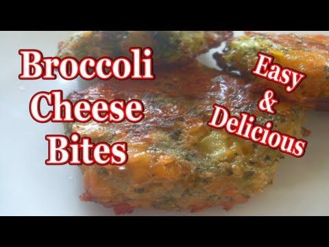 how to make broccoli cheese bites