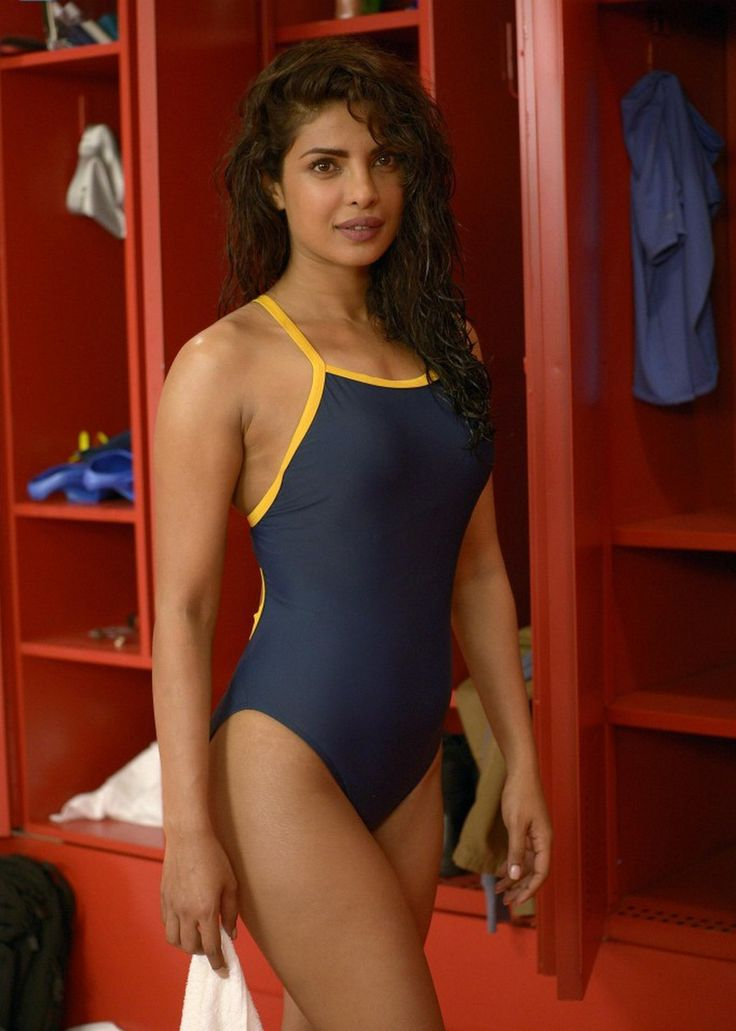 #Priyanka Chopra Bikini stills from Quantico Tv Series