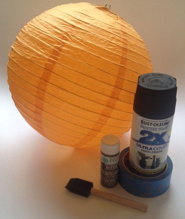Painted Paper Lantern