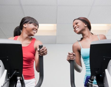 Don't Let Your Hair Disrupt Your Workout: Tips for maintaining your natural straight hair, blow-dryed out natural hair, or kinky natural hairstyles