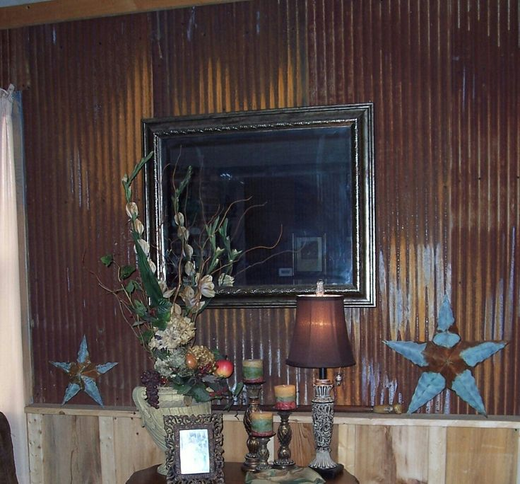 Rustic Basement Love This Looks Like An Old: 119 Best Images About Old Tin & Barn Wood Designs On