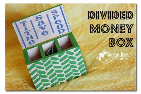 Kids' money box - a neat way teach your kids about money