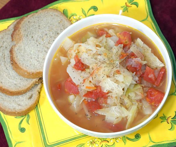 Shchi uses beef broth for a rich and robust flavor, making this Russian version different from other Cabbage Soup recipes.