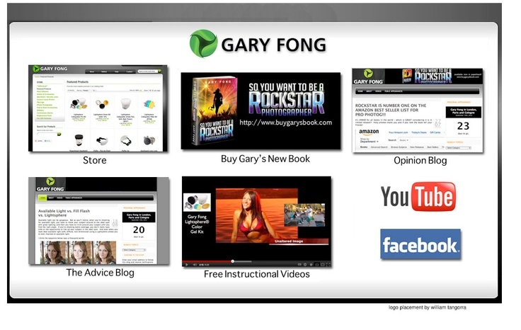 Directory of Gary Fong's Websites | World famous photographer, created Lightsphere to diffuse camera flash for optimum quality