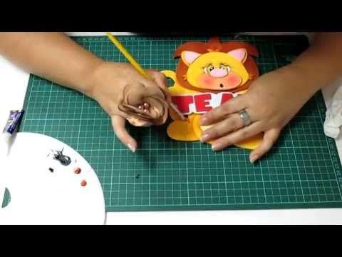DIY Portalapices Reciclaje Latita en Fomi, Goma Eva, Microporoso, Easy Crafts - YouTube