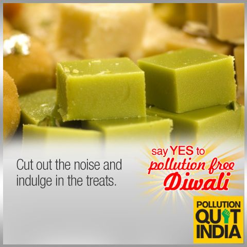 This Diwali, celebrate a #PollutionFreeDiwali. Like if you support.