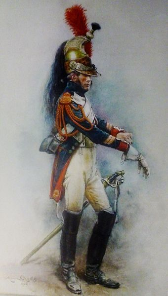 Dragon de la Garde impériale -- Dragoon of the Imperial Guard.