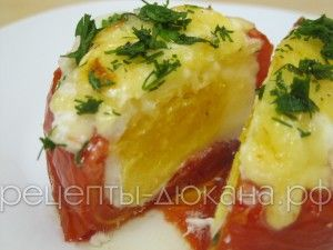 Горячие помидоры по Дюкану готовы