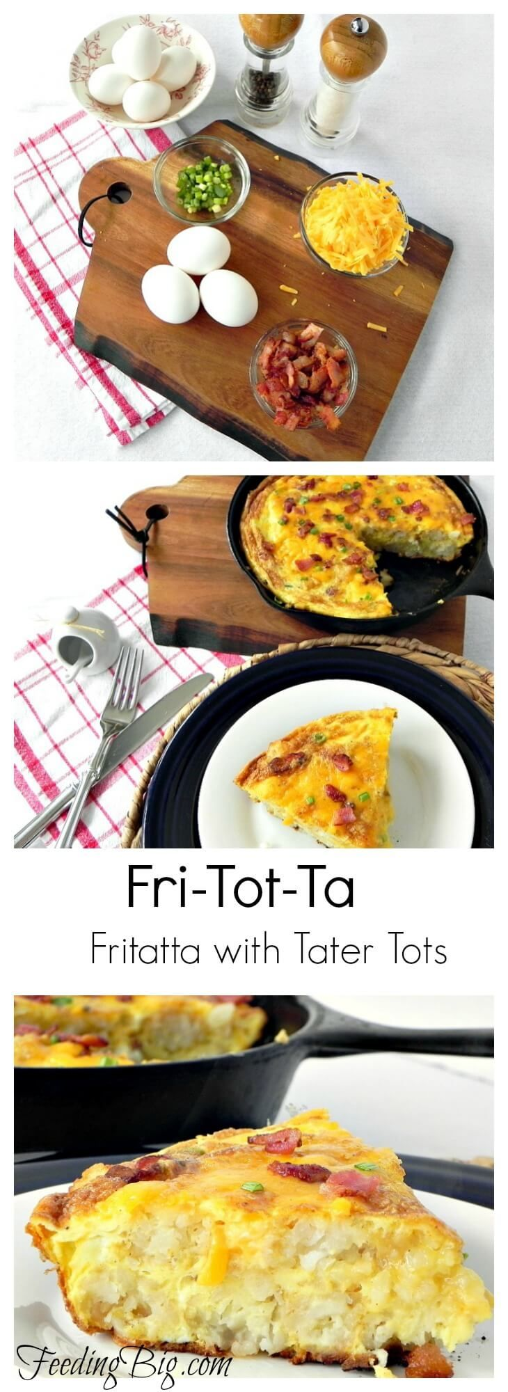 Frittata or Fri-Tot-Ta? One dish meal your family will love