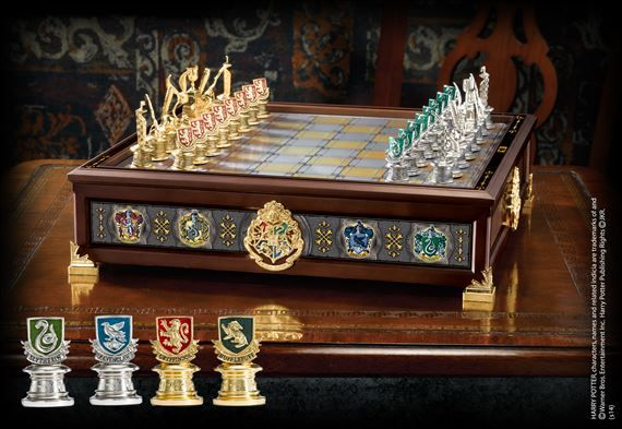 Quidditch Chess Set from The Noble Collection