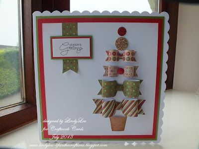 Craftwork Cards Blog: Christmas ...... in July