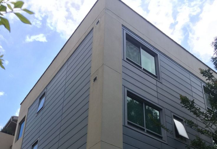 Lindfield Residential Apartments NSW Copper H25 cassette cladding | Rheinzink H25 cassette cladding