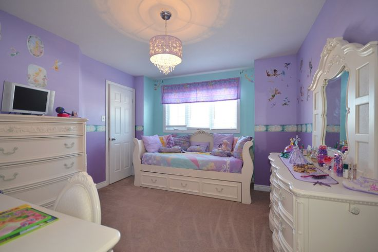 Lovely WHITE furniture to compliment any colourful bedroom!