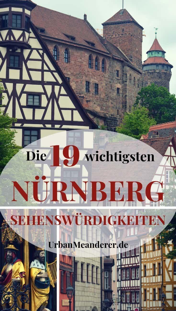 Orte nürnberg romantische Liste der