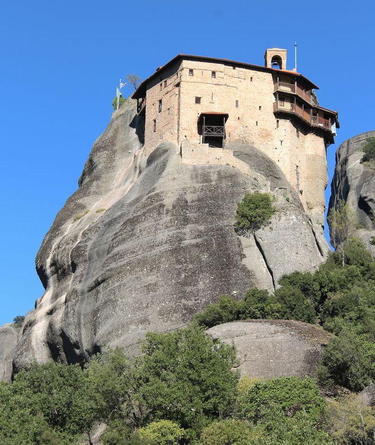 Klasztor Świętego Mikołaja Odpoczywającego - Meteory, Grecja
