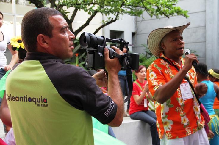 Los medios de comunicación interesados en el proyecto