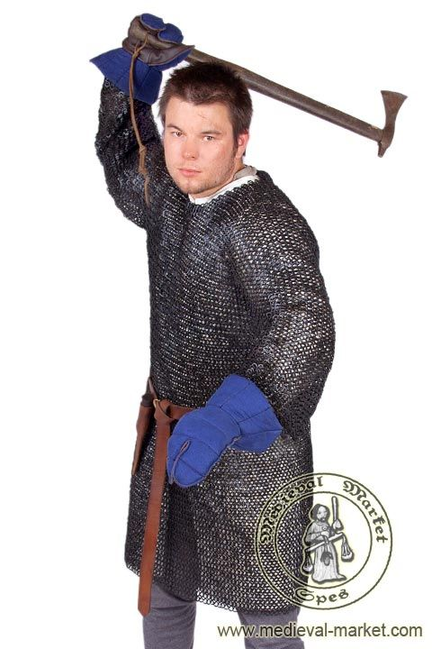 Chainmail with long sleeves (triangular rivets). SPES Medieval Market