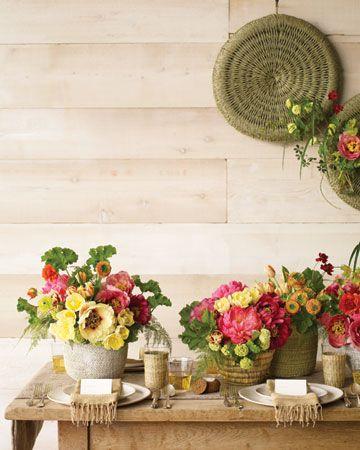 .: Table Settings, Ideas, Spring Flower, Inspiration, Spring Weddings, Spring Wedding Flowers, Flower Arrangements, Floral Arrangements