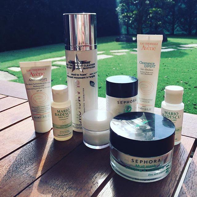 My skin care routine.  Новый пост в блоге beautybykorn.blogspot.com #уходзакожейлица #уход #аннакорн #бьютиблог #макияжвмилане #визажист #макияж #annakorn #sephora #glamglow #glamglowmud #skincare #skin #avene #cream #blog #bbloggers