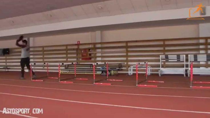Барьерная работа и круговая тренировка на все группы мышц