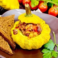 Basic Beef-Stuffed Yellow Squash