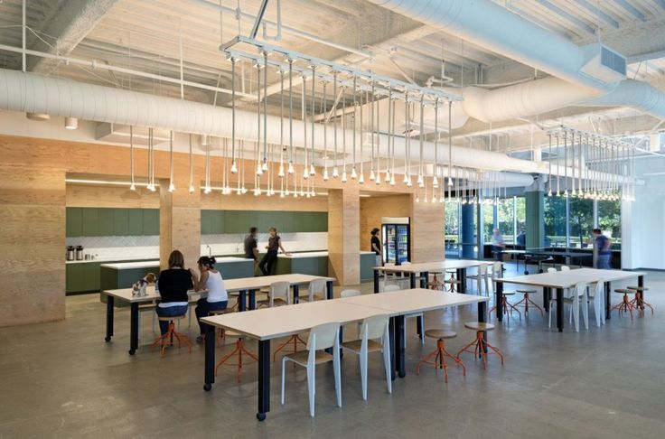 Studio O+A have designed the offices of Evernote in Redwood City, California.