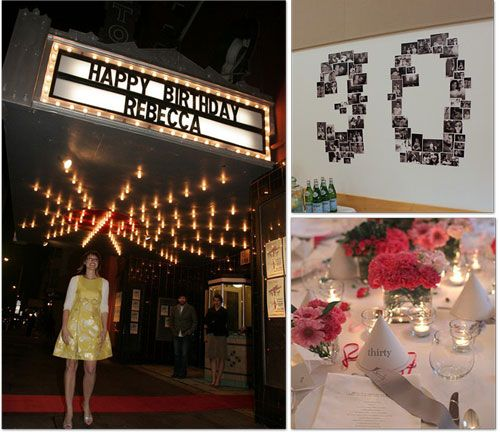 25 Adult Birthday Party Ideas...includes 30th, 40th, 50th, 60th...