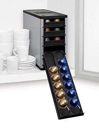 Youcopia - Raccoglitore per capsule di caffè in alluminio