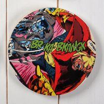 Superhero comic book circle wall art - New