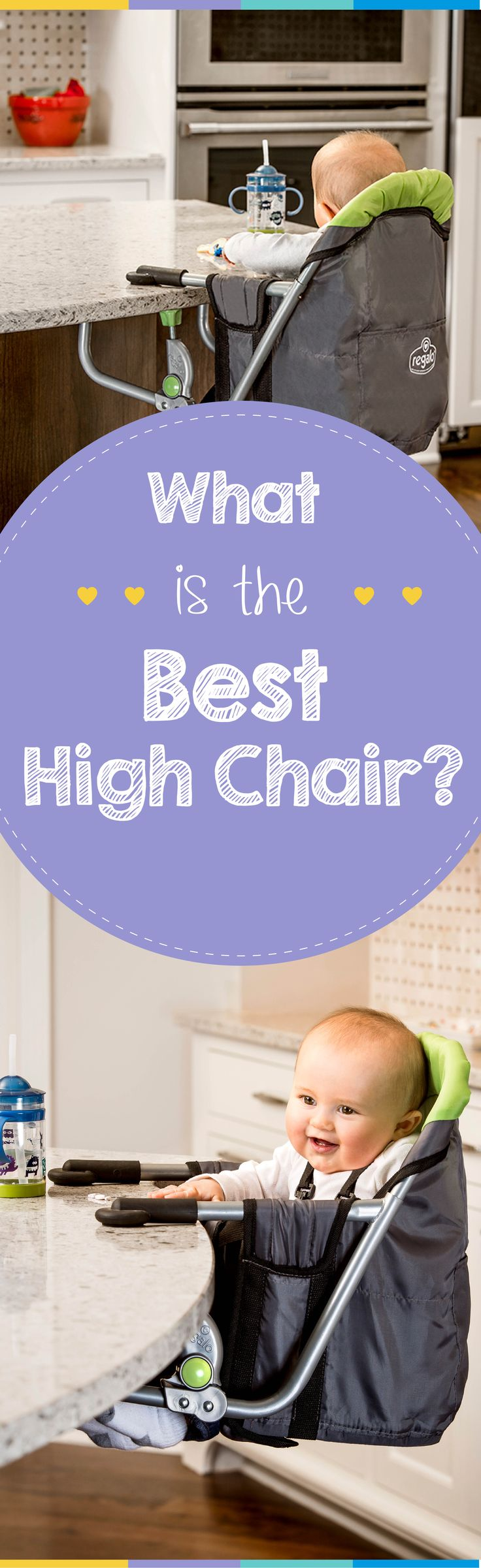 Consider all the factors of choosing a high chair (type of high chair, price) before making your purchase.
