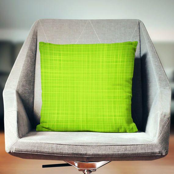 Lime Green Pillow   Lime Green Throw Pillow   Lime Green Pillow Cover   Lime Green Decor   Lime Green Cushion   Lime Green Home Decor