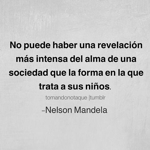frases - #Frases de Nelson Mandela #citas  #reflexiones