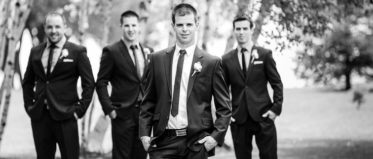 bridal party, groom, mariage