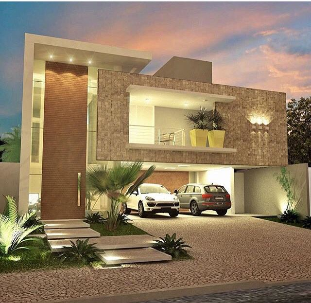 M s de 1000 ideas sobre fachadas de casas modernas en for Exteriores de casas modernas