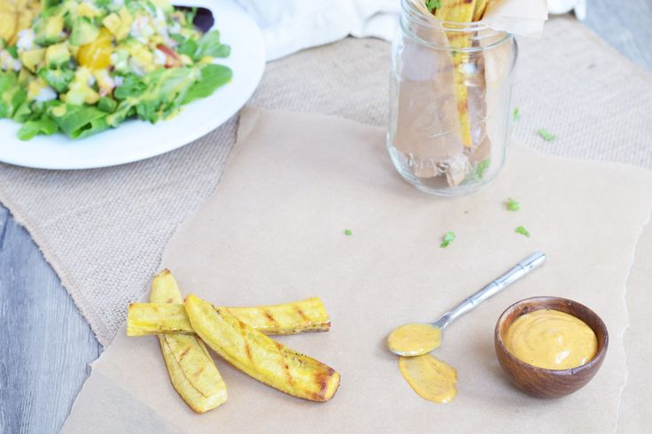 Grilled Plantain Fries - Living Loving Paleo