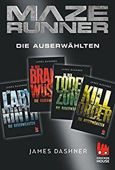 Maze Runner - 4 x Die Auserwählten: Exkusive E-Box: Im Labyrinth, In der Brandwüste, In der Todeszone, Kill Order (Die Auserwählten - Maze Runner) von [Dashner, James]