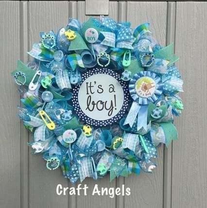 44 New Ideas For Baby Shower Ideas For Boys Diy Decoration Front Doors