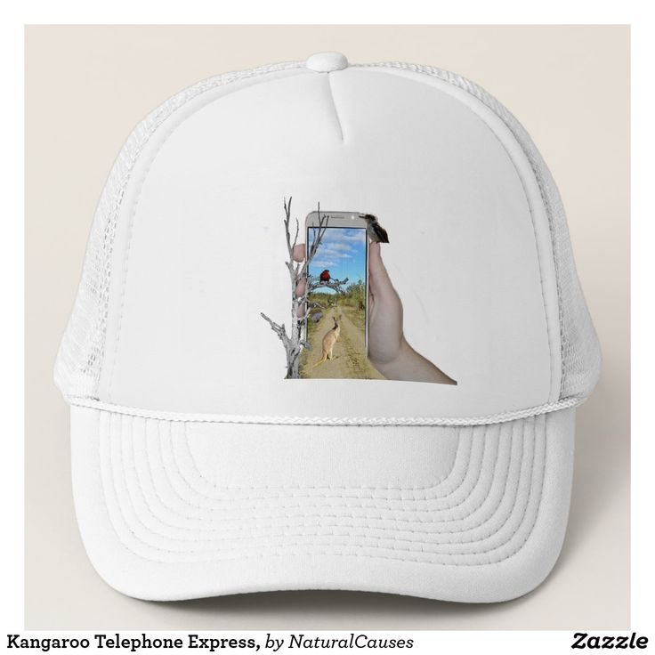 #kangaroo Telephone Express, Trucker #Hat