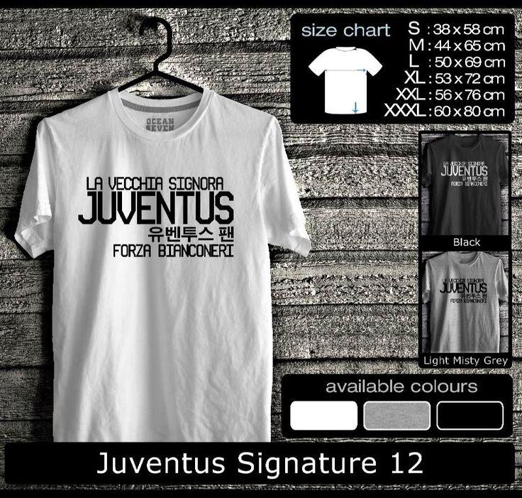 Kaos Juventus FootBall Club | Kaos Juveniti 2