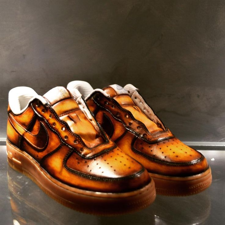Nice pair of Nike in a 4 color patina... Check the work since · Nike Air  ForceMan ShoesMen's ...