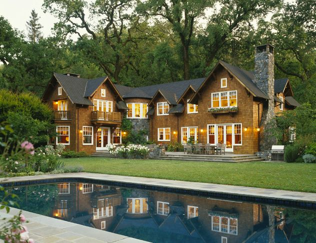 7 Popular Siding Materials To Consider: 25+ Best Cedar Shingle Homes Ideas On Pinterest