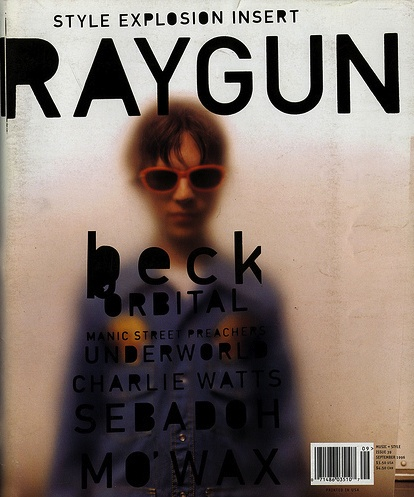 David Carsons Raygun magazine