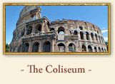 The Roman Colosseum, Rome Italy