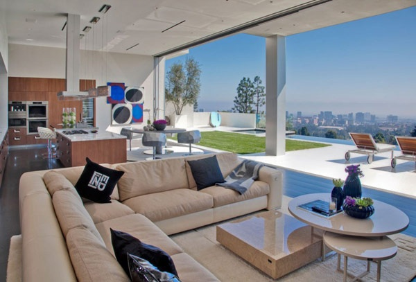 Nice view from this living room...