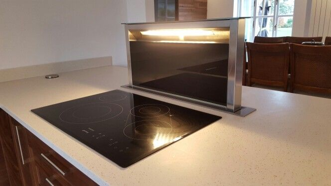 Smeg Induction Hob and Downdraft Extractor.